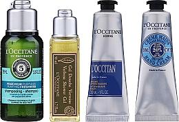 Profumi e cosmetici Set - L'Occitane Men Selection (sh/gel/50ml + ash/balm/30ml + /cr/30ml + shmp/75ml + bag)