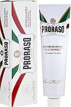 Profumi e cosmetici Sapone da barba per pelli sensibili - Proraso Shaving Soap For Sensitive Skin