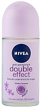 "Profumi e cosmetici Deodorante roll on antitraspirante ""Effetto doppio"" - Nivea Double Effect Deodorant Roll-On"