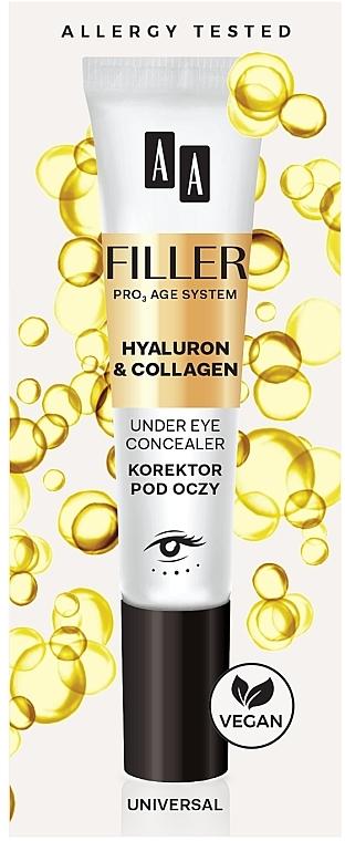 Correttore contorno occhi - AA Filler Under Eye Concealer