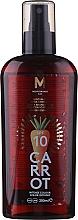 Profumi e cosmetici Olio abbronzante - Mediterraneo Sun Carrot Suntan Oil Dark Tanning SPF 10