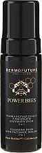 Profumi e cosmetici Schiuma detergente con peeling enzimatico 2in1 - Dermofuture Power Bees Cleansing Foam 2in1