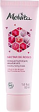 "Profumi e cosmetici Maschera viso idratante ""Nettare rosa"" - Melvita Nectar De Rose Moisturizing Mask"