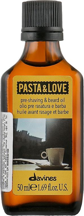 Olio da barba - Davines Pasta & Love Pre Shaving + Beard Oil — foto N1