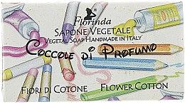 """Profumi e cosmetici Sapone naturale per bambini """"Fiori di cotone"""" - Florinda Sapone Cotton Flower"""