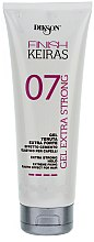 Profumi e cosmetici Gel extra forte per capelli - Dikson Finish Keiras Gel Extra Strong Effetto Cemento Elastino 07