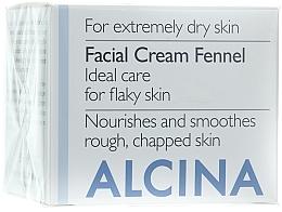 Profumi e cosmetici Crema al finocchio per il viso - Alcina T Facial Cream Fennel