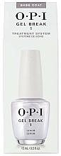 Profumi e cosmetici Base protettiva per unghie - O.P.I Gel Break Serum Base Coat