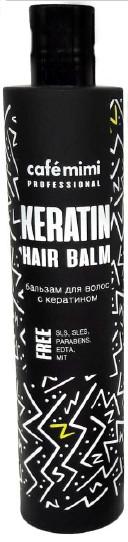 Balsamo alla cheratina per capelli danneggiati e tinti - Cafe Mimi Professional Keratin Hair Balm