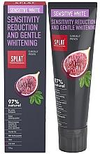 Profumi e cosmetici Dentifricio - SPLAT Professional Bio Sensitive White Sensitivity Reduction & Gentle Whitening