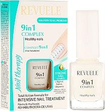 Profumi e cosmetici Trattamento unghie rigenerante 9 in 1 - Revuele Nail Therapy