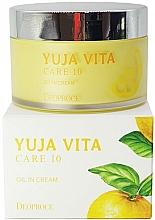 Profumi e cosmetici Crema viso rigenerante agli agrumi - Deoproce Yuja Vita Care 10 Oil in Cream
