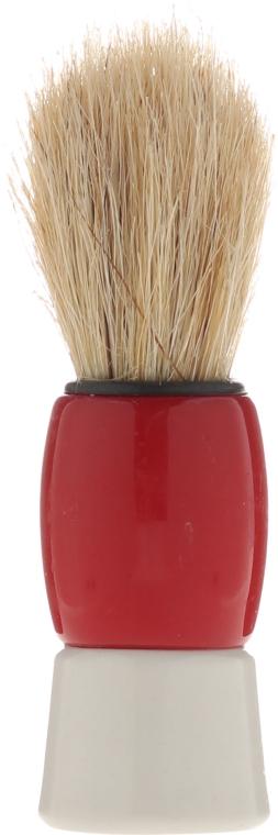 Pennello da barba, 9573, rosso - Donegal