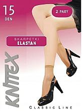 """Profumi e cosmetici Calze da donna """"Elastan"""" 15 Den, 2 paia, visone - Knittex"""