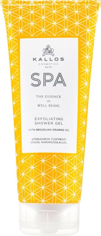 Gel doccia esfoliante - Kallos Cosmetics Spa Exfoliating Shower Gel  — foto N1