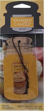 """Profumi e cosmetici Aromatizzatore secco """"Vanilla Capcake"""" - Yankee Candle Vanilla Cupcake Car Jar Ultimate"""