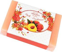 """Profumi e cosmetici Sapone """"Persico"""" - Delicate Organic Aroma Soap"""