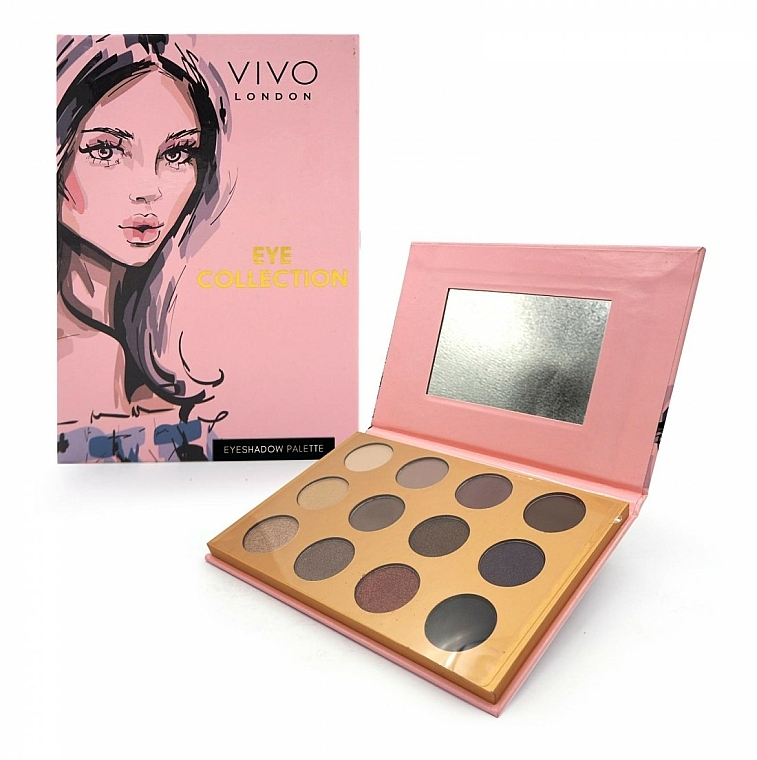 Palette ombretti - Vivo London Eye Collection
