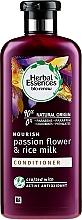 Profumi e cosmetici Condizionante per capelli - Herbal Essences Passion Flower & Rice Milk Conditioner
