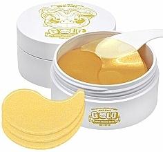 Profumi e cosmetici Patch occhi in idrogel con oro e acido ialuronico - Elizavecca Gold Hyaluronic Acid Eye Patch