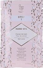 Set - Peggy Sage Spa Manucure Kit (bath/caviar/20g + peeling/gel/15ml + h/masque/15ml + h/cr/15ml) — foto N3