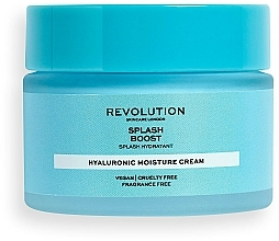 Profumi e cosmetici Crema viso idratante all'acido ialuronico - Revolution Skincare Splash Boost with Hyaluronic Acid