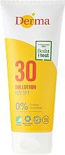 Profumi e cosmetici Lozione solare - Derma Sun Lotion SPF30