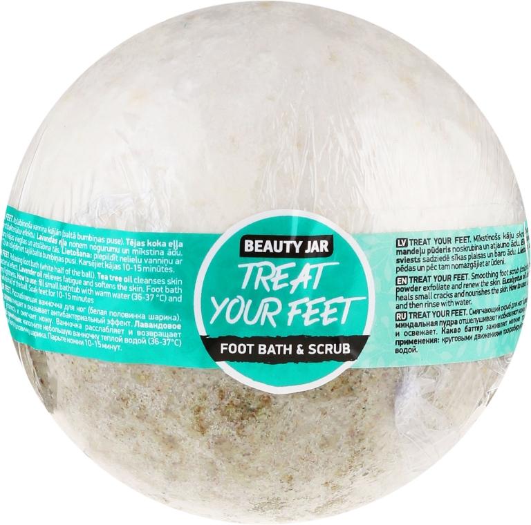 Scrub pediluvio - Beauty Jar Treat Your Feet Foot Bath&Scrub