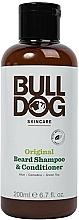 Profumi e cosmetici Shampoo-condizionante per barba - Bulldog Skincare Beard Shampoo and Conditioner