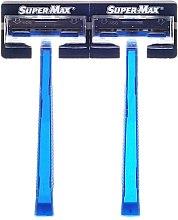 Profumi e cosmetici Set rasoi monouso, 48pz - Super-Max Twin Blade