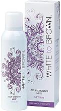 Profumi e cosmetici Autoabbronzante-spray - White To Brown Self Tanning Mist Medium