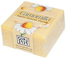 """Profumi e cosmetici Sapone """"Camomilla"""" - Gori 1919 Chamomile Natural Vegetable Soap"""