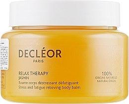 Profumi e cosmetici Balsamo corpo con estratto di gelsomino con effetto rilassante e antistress - Decleor Relax Therapy Jasmin Stress And Fatigue Relieving Body Balm