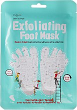 Profumi e cosmetici Maschera esfoliante per i piedi - Cettua Exfoliating Foot Mask
