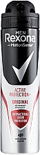 """Profumi e cosmetici Deodorante-spray """"Effetto antibatterico"""" - Rexona Men MotionSense Active Shield Anti-Perspirant"""
