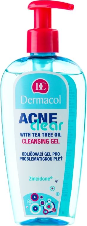 Gel detergente struccante per la pelle problematica - Dermacol Acne Clear Make-Up Removal & Cleansing Gel