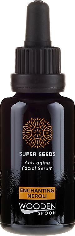 Siero viso - Wooden Spoon Super Seeds Enchanting Neroli Anti-aging Facial Serum — foto N2