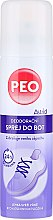 Profumi e cosmetici Spray deodorante per scarpe - Astrid Antibacterial Deodorizing Spray Peo Shoe