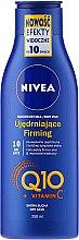 Profumi e cosmetici Lozione rassodante per la pelle secca - Nivea Q10 + Vitamin C Body Lotion