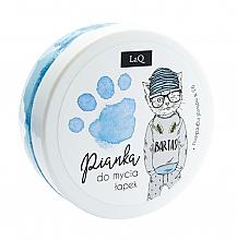 Profumi e cosmetici Schiuma detergente per corpo, mani e capelli, blu - LaQ Cleansing Foam