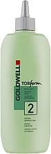 Profumi e cosmetici Permanente per capelli porosi e colorati - Goldwell Topform 2