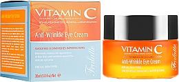Profumi e cosmetici Crema contorno occhi antirughe - Frulatte Vitamin C Anti-Wrinkle Eye Cream