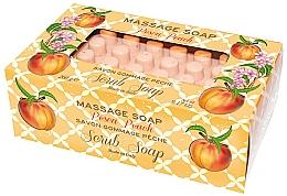 """Profumi e cosmetici Sapone da massaggio """"Pesca"""" - Gori 1919 Massage Scrub Soap Peach"""