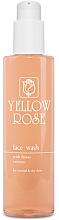 Profumi e cosmetici Gel detergente con estratti floreali per pelli normali e secche - Yellow Rose Face Wash With Flower Extracts