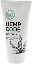 Profumi e cosmetici Crema corpo nutriente all'olio di canapa per pelli secche - Good Mood Hemp Code Body Cream