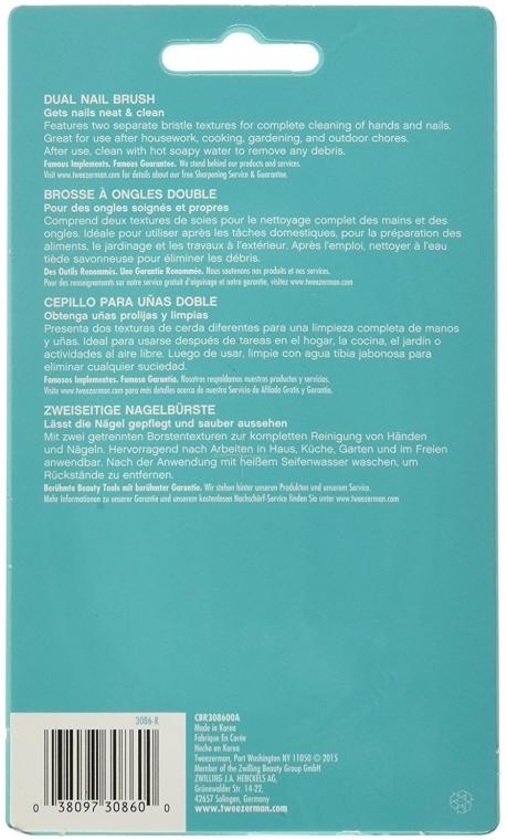 Spazzola per unghie a doppia faccia 3086-R - Tweezerman Dual Surface Nail Brush — foto N3