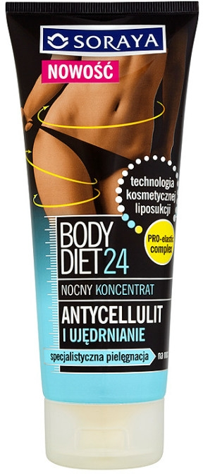 Concentrato anticellulite - Soraya Body Diet 24 Cellulite And Firming Night Concentrate — foto N1