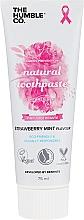 """Profumi e cosmetici Dentifricio naturale """"Fragola e Menta"""" - The Humble Co. Natural Toothpaste Strawberry Mint"""