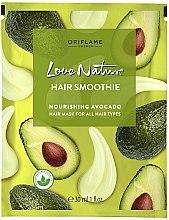 "Profumi e cosmetici Maschera nutriente per tutti i tipi di capelli ""Avocado"" - Oriflame Love Nature Hair Smoothie"