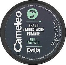 Cera barba - Delia Cameleo Men Beard and Moustache Pomade — foto N2